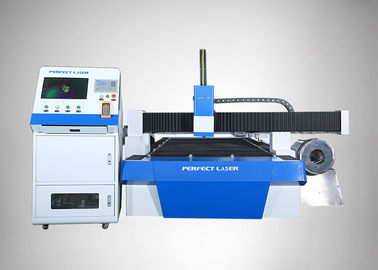 Round Metal Pipe Fiber Laser Machine , 3D  Blue Laser Cutting Machine