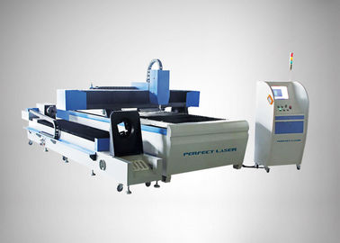 Chiny 90 m / min Fiber Laser Cutting Machine For Round Metal Pipe / Sheet Cutting fabryka